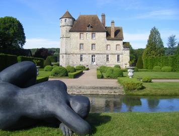 Sculptures - Château de Vascoeuil