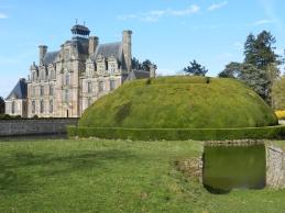 Labyrinthe - Château de Beaumesnil