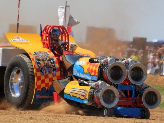 Tracteur Pulling de Bernay