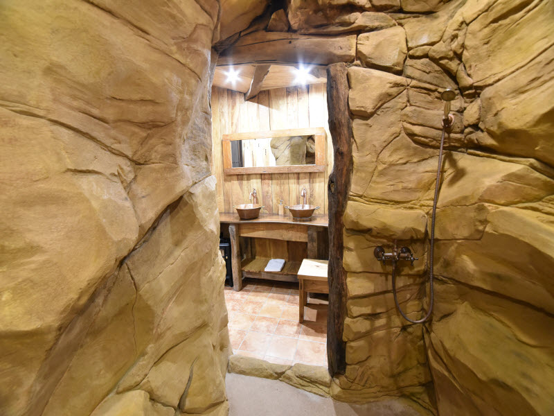 Le Gite du Goubelin - Un espace Douche unique